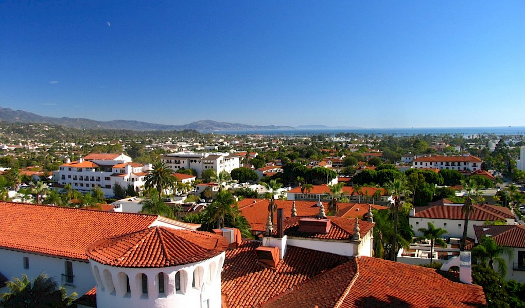 A view from the Santa Barbara Courthouse